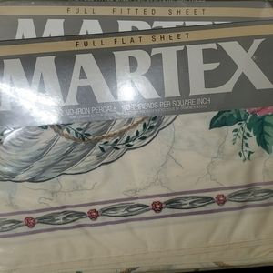 NEW Martex Manette 4-Piece Full-Size Sheet Set